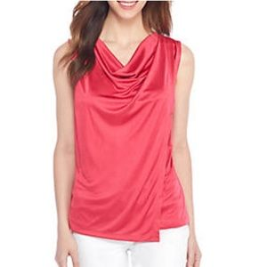 The Limited Drape Neck Top. Size 1X